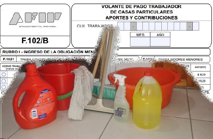 servicio-domestico-recibo- sueldo-empleada doméstica
