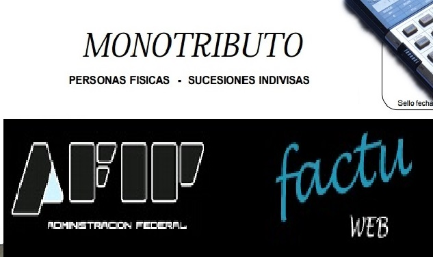 Monotributo - factura web