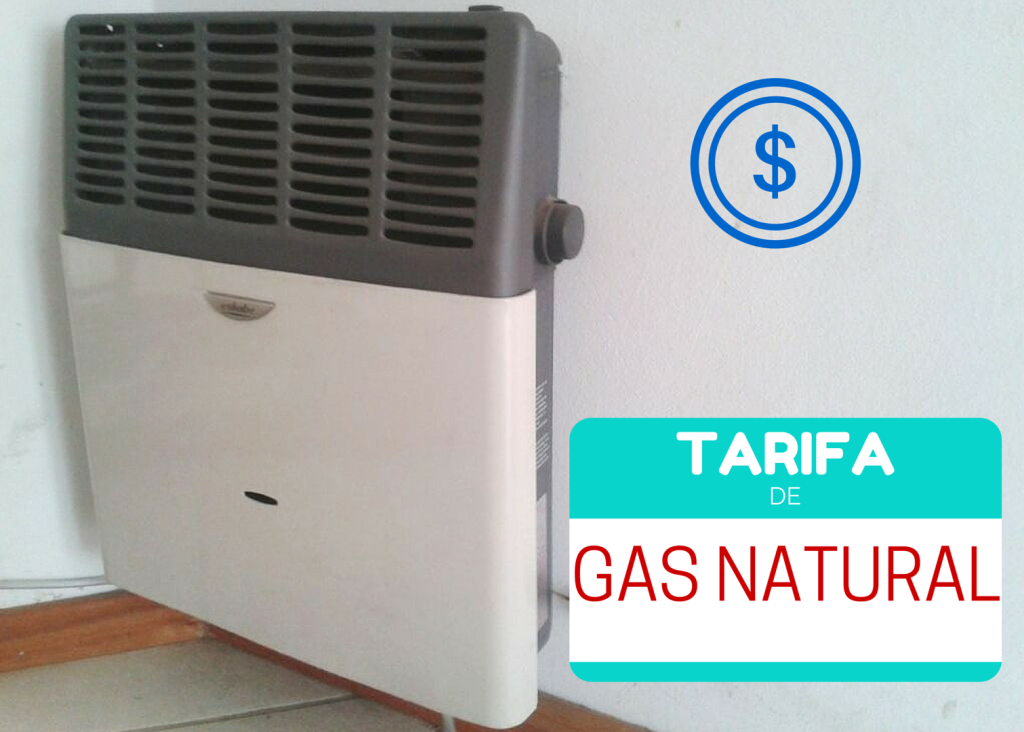 tarifas del gas natural
