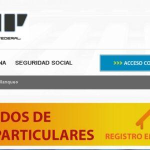 Registro de Empleados de Casas Particulares. AFIP