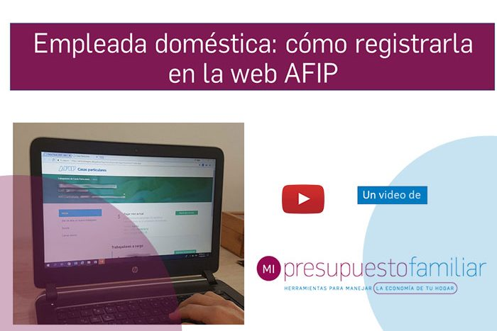 Video tutorial: cómo registrar a una empleada doméstica